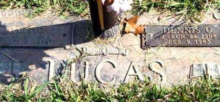 LUCAS, DENNIS O. - Saline County, Arkansas | DENNIS O. LUCAS - Arkansas Gravestone Photos