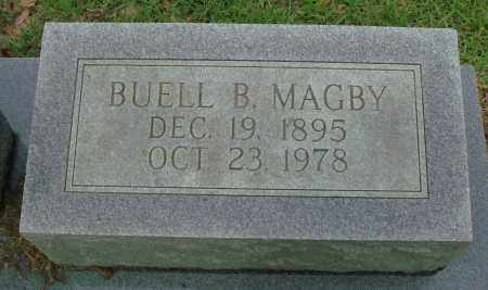 MAGBY, BUELL B. - Saline County, Arkansas | BUELL B. MAGBY - Arkansas Gravestone Photos