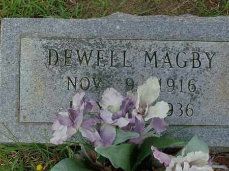 MAGBY, DEWELL - Saline County, Arkansas | DEWELL MAGBY - Arkansas Gravestone Photos