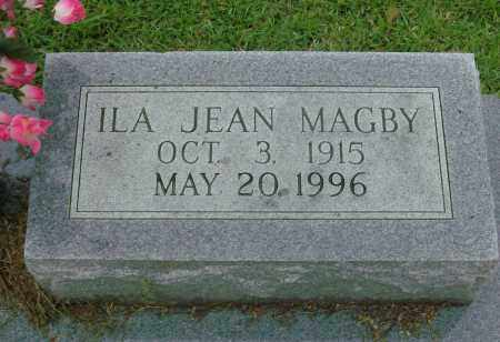 MAGBY, ILA JEAN - Saline County, Arkansas   ILA JEAN MAGBY - Arkansas Gravestone Photos