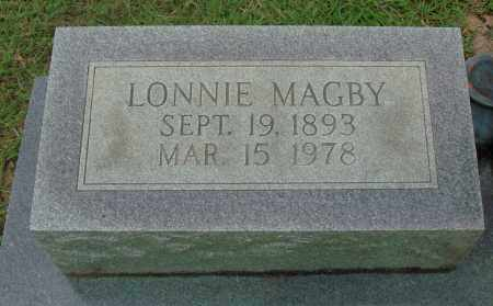 MAGBY, LONNIE - Saline County, Arkansas | LONNIE MAGBY - Arkansas Gravestone Photos
