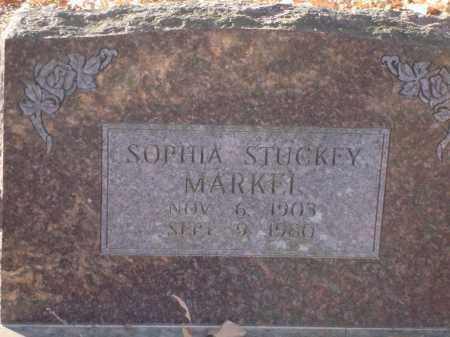 STUCKEY MARKEL, SOPHIA - Saline County, Arkansas | SOPHIA STUCKEY MARKEL - Arkansas Gravestone Photos