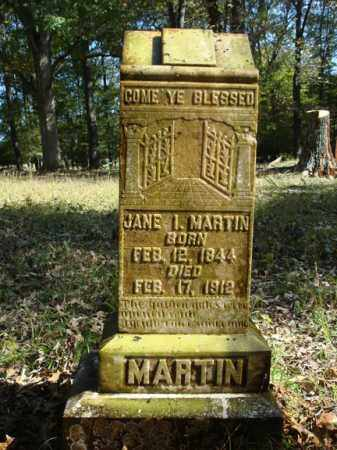 MARTIN, JANE I. - Saline County, Arkansas | JANE I. MARTIN - Arkansas Gravestone Photos