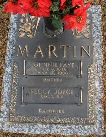 MARTIN, JOHNNIE FAYE - Saline County, Arkansas | JOHNNIE FAYE MARTIN - Arkansas Gravestone Photos