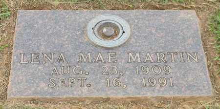 HOLLOWAY MARTIN, LENA MAE - Saline County, Arkansas | LENA MAE HOLLOWAY MARTIN - Arkansas Gravestone Photos