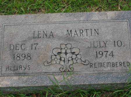 MARTIN, LENA - Saline County, Arkansas   LENA MARTIN - Arkansas Gravestone Photos