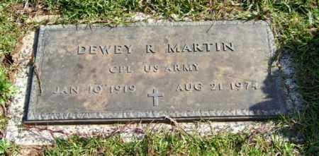 MARTIN (VETERAN), DEWEY R. - Saline County, Arkansas | DEWEY R. MARTIN (VETERAN) - Arkansas Gravestone Photos
