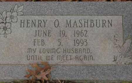 MASHBURN, HENRY O. - Saline County, Arkansas | HENRY O. MASHBURN - Arkansas Gravestone Photos