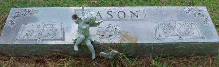 "MASON, OPAL E. ""SALLY"" - Saline County, Arkansas 