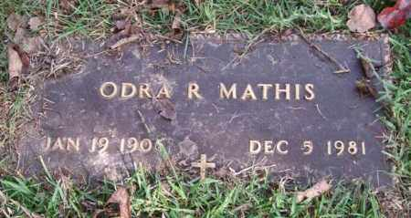 MATHIS, ODRA R. - Saline County, Arkansas | ODRA R. MATHIS - Arkansas Gravestone Photos