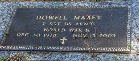 MAXEY (VETERAN WWII), DOWELL - Saline County, Arkansas | DOWELL MAXEY (VETERAN WWII) - Arkansas Gravestone Photos