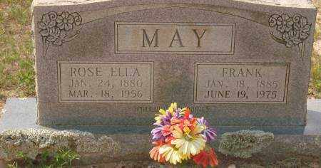 MAY, ROSE ELLA - Saline County, Arkansas | ROSE ELLA MAY - Arkansas Gravestone Photos
