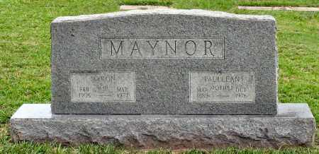 MAYNOR, MYRON - Saline County, Arkansas | MYRON MAYNOR - Arkansas Gravestone Photos