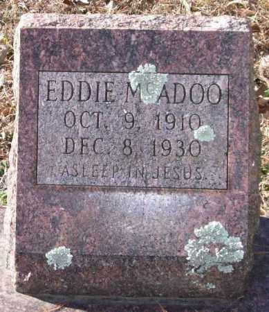 MCADOO, EDDIE - Saline County, Arkansas | EDDIE MCADOO - Arkansas Gravestone Photos