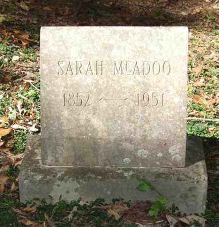 MCADOO, SARAH - Saline County, Arkansas | SARAH MCADOO - Arkansas Gravestone Photos
