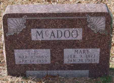 MCADOO, THOMAS F. - Saline County, Arkansas | THOMAS F. MCADOO - Arkansas Gravestone Photos