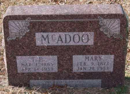 MCADOO, MARY - Saline County, Arkansas | MARY MCADOO - Arkansas Gravestone Photos