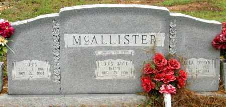 MCALLISTER, LOLA EVELYN - Saline County, Arkansas | LOLA EVELYN MCALLISTER - Arkansas Gravestone Photos