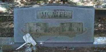 MCATEE, IRVAN - Saline County, Arkansas | IRVAN MCATEE - Arkansas Gravestone Photos