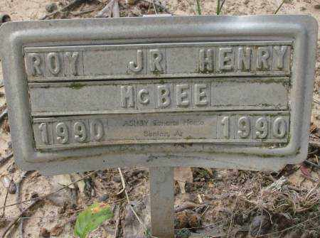 MCBEE, ROY HENRY - Saline County, Arkansas | ROY HENRY MCBEE - Arkansas Gravestone Photos