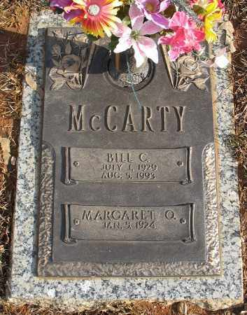 MCCARTY, BILL C. - Saline County, Arkansas | BILL C. MCCARTY - Arkansas Gravestone Photos