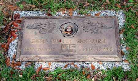 MCCLURE, RENA BELLE - Saline County, Arkansas | RENA BELLE MCCLURE - Arkansas Gravestone Photos