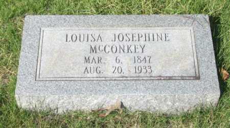 MCCONKEY, LOUISA JOSEPHINE - Saline County, Arkansas | LOUISA JOSEPHINE MCCONKEY - Arkansas Gravestone Photos