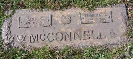 MCCONNELL, CARL O. - Saline County, Arkansas | CARL O. MCCONNELL - Arkansas Gravestone Photos