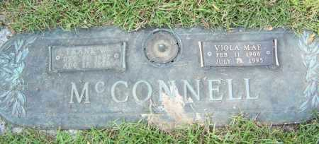 MCCONNELL, FRANK W. - Saline County, Arkansas | FRANK W. MCCONNELL - Arkansas Gravestone Photos
