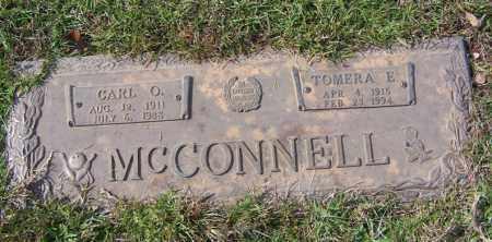 MCCONNELL, TOMERA E. - Saline County, Arkansas | TOMERA E. MCCONNELL - Arkansas Gravestone Photos