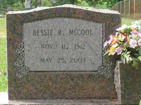 MCCOOL, BESSIE - Saline County, Arkansas | BESSIE MCCOOL - Arkansas Gravestone Photos