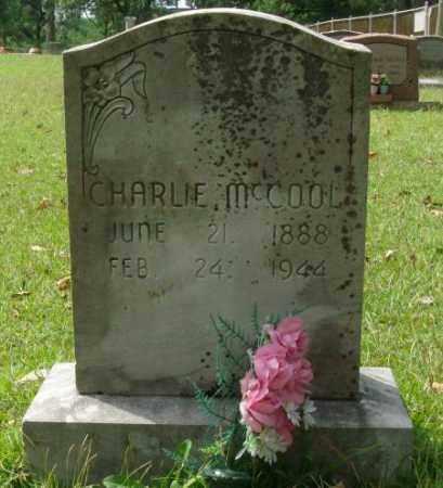 MCCOOL, CHARLIE - Saline County, Arkansas | CHARLIE MCCOOL - Arkansas Gravestone Photos