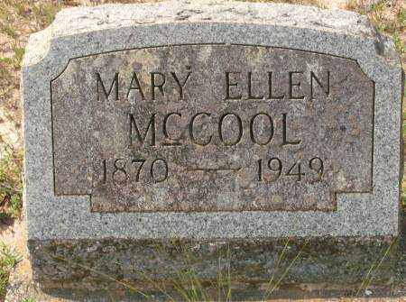 MCCOOL, MARY ELLEN - Saline County, Arkansas | MARY ELLEN MCCOOL - Arkansas Gravestone Photos