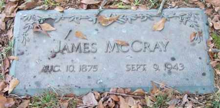 MCCRAY, JAMES - Saline County, Arkansas | JAMES MCCRAY - Arkansas Gravestone Photos