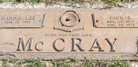 MCCRAY, JACK R. - Saline County, Arkansas | JACK R. MCCRAY - Arkansas Gravestone Photos