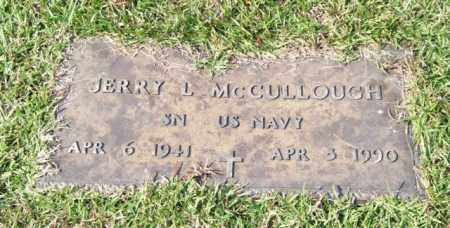 MCCULLOUGH (VETERAN), JERRY L - Saline County, Arkansas | JERRY L MCCULLOUGH (VETERAN) - Arkansas Gravestone Photos