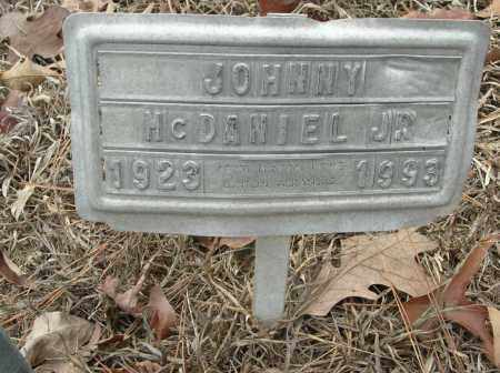 MCDANIEL, JR, JOHNNY - Saline County, Arkansas | JOHNNY MCDANIEL, JR - Arkansas Gravestone Photos