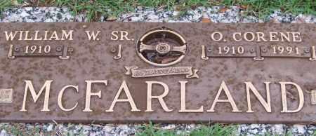 MCFARLAND, O. CORENE - Saline County, Arkansas | O. CORENE MCFARLAND - Arkansas Gravestone Photos