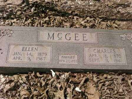 MCGEE, CHARLES - Saline County, Arkansas | CHARLES MCGEE - Arkansas Gravestone Photos
