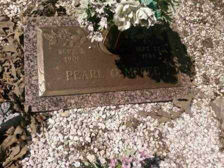 MCGEE, PEARL O - Saline County, Arkansas | PEARL O MCGEE - Arkansas Gravestone Photos