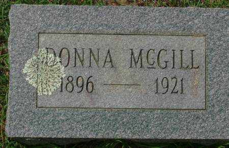 MCGILL, DONNA - Saline County, Arkansas | DONNA MCGILL - Arkansas Gravestone Photos
