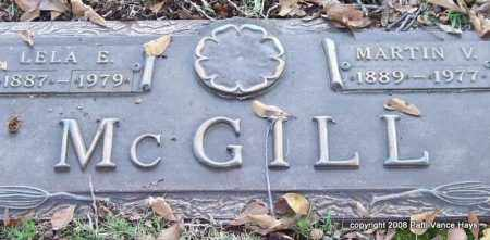 MCGILL, MARTIN V. - Saline County, Arkansas | MARTIN V. MCGILL - Arkansas Gravestone Photos
