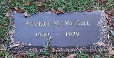 MCGILL, ROBERT M. - Saline County, Arkansas | ROBERT M. MCGILL - Arkansas Gravestone Photos