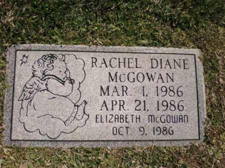 MCGOWAN, RACHEL DIANE - Saline County, Arkansas | RACHEL DIANE MCGOWAN - Arkansas Gravestone Photos