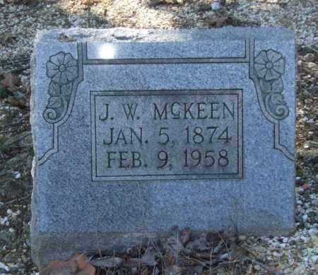 MCKEEN, J. W. - Saline County, Arkansas | J. W. MCKEEN - Arkansas Gravestone Photos