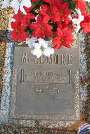 MCLEMORE, STERLING M. - Saline County, Arkansas | STERLING M. MCLEMORE - Arkansas Gravestone Photos
