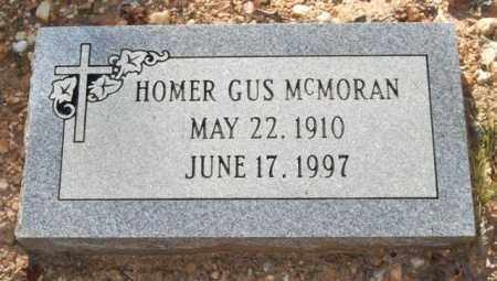 MCMORAN, HOMER GUS - Saline County, Arkansas | HOMER GUS MCMORAN - Arkansas Gravestone Photos