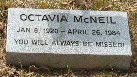 BOLT MCNEIL, OCTAVIA - Saline County, Arkansas | OCTAVIA BOLT MCNEIL - Arkansas Gravestone Photos