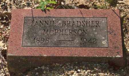 MCPHERSON, FANNIE - Saline County, Arkansas | FANNIE MCPHERSON - Arkansas Gravestone Photos
