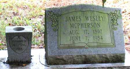 MCPHERSON, JAMES WESLEY - Saline County, Arkansas | JAMES WESLEY MCPHERSON - Arkansas Gravestone Photos